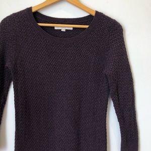 LOFT Dresses - Loft Maroon Swing Sweater Dress